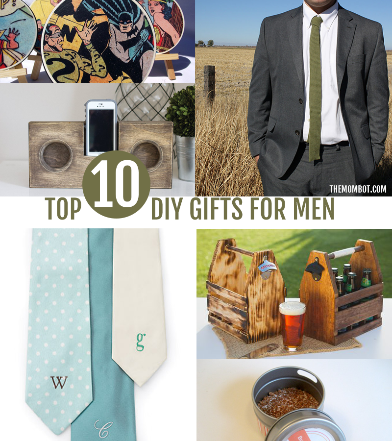 diy gifts for men, gifts for men, diy gift ideas, handmade gifts for men, christmas gifts for men