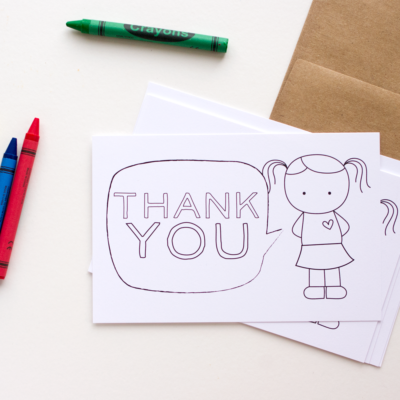 thank you cards for kids, kid thank yous, fill in thank you cards, printable thank you cards