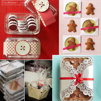 christmas dessert packaging ideas, christmas desserts, christmas dessert packaging