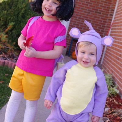 DIY Dora & Boots Costumes