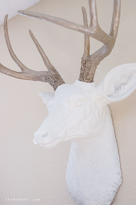 Diy Faux Deer Head For Under 50 The Mombot