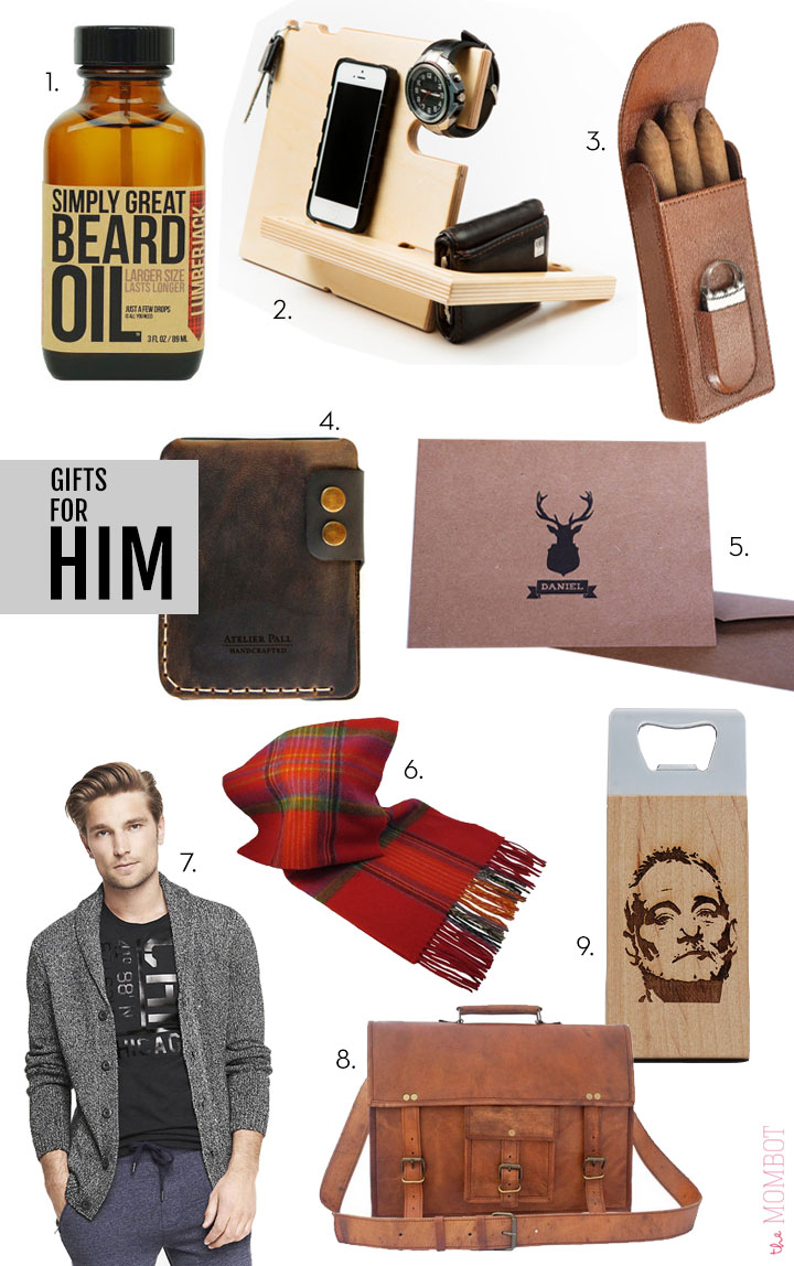 Gifts for him 2014 | TheMombot.com