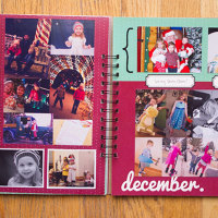 Year photo album & journal | TheMombot.com