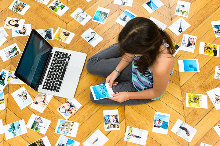 organizing your digital photos in 5 easy steps | themombot.com