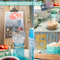 Little Mermaid Birthday Party | TheMombot.com