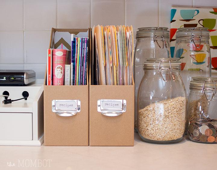 new-recipe-organization
