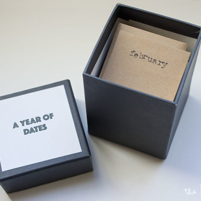 A year of dates: DIY gift idea   TheMombot.com