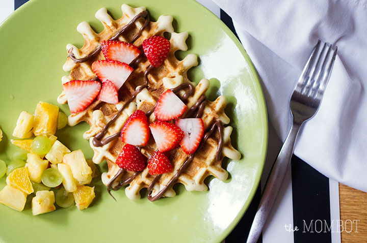 Lollywaffle mixes: Easy dinner | TheMombot.com