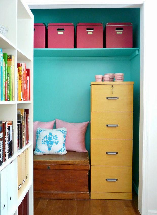 Using the closet, closet remodel | TheMombot.com