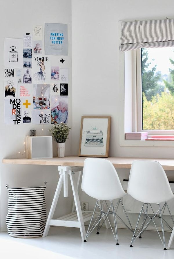 White work space | TheMombot.com