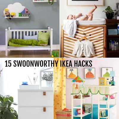 15 Swoonworthy Ikea Hacks | TheMombot.com