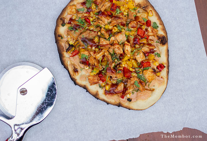 Dairy-free BBQ Chicken Pizza