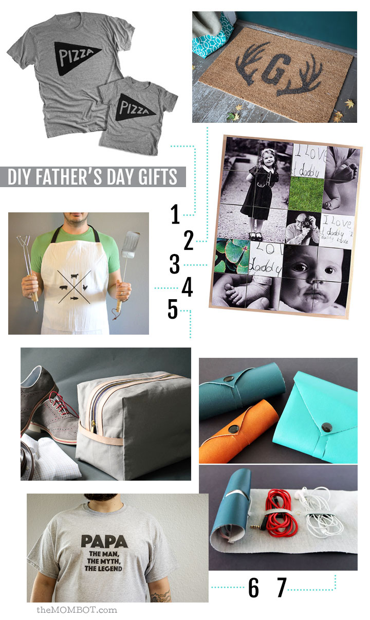 DIY gift ideas for Father's Day: 2015 edition | TheMombot.com