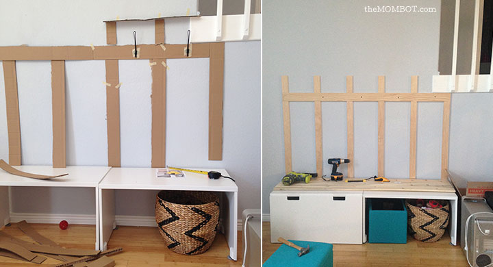 Ikea Hack Diy Mudroom Benches The Mombot