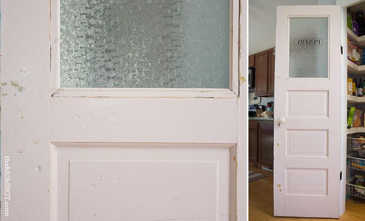 A vintage pantry door DIY | TheMombot.com