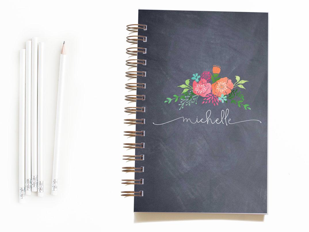 etsy-image-notebooks-chalkboard-floral