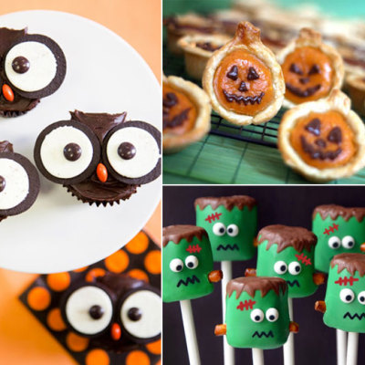 Halloween treats round-up on TheMombot.com