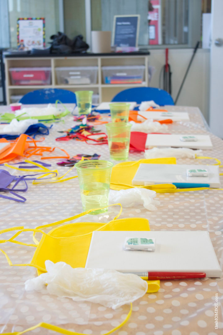 art-theme-birthday-party-tablesetup