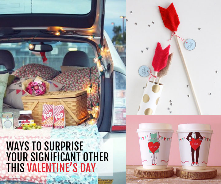 Ways to surprise your significant other this Valentine's Day