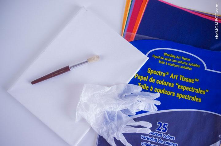 tissue-paper-canvas-supplies