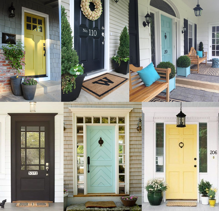 front-door-colors-collage