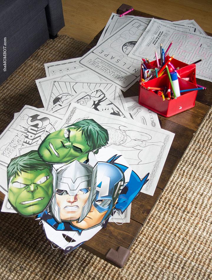 superhero-party-games-coloring