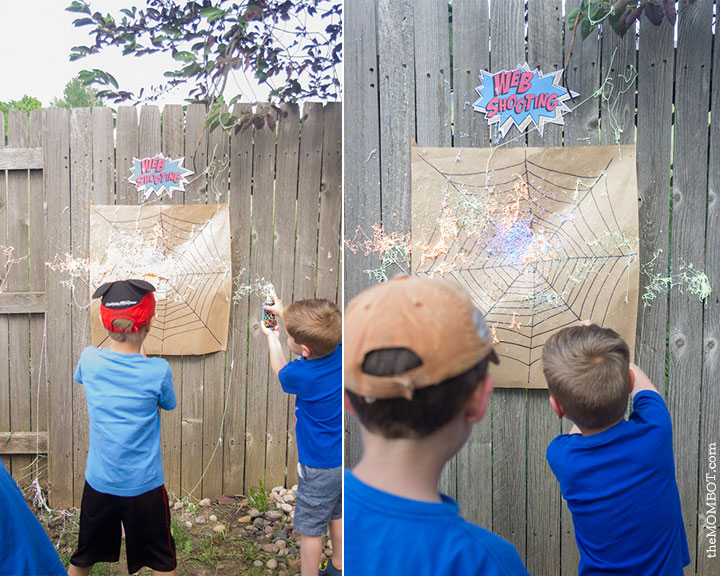 superhero-party-games-web-shooting