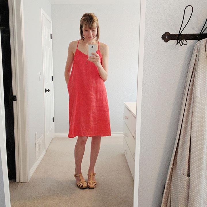 coral-linen-dress