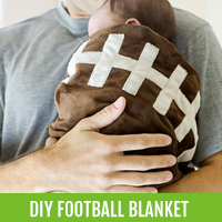 gifts-for-dad-football-blanket