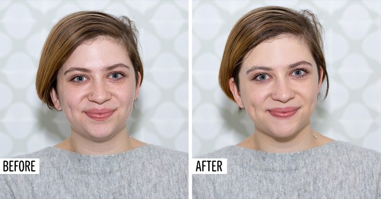 Dr-Jart-Before-After-babbly, cicapair color correcting cream