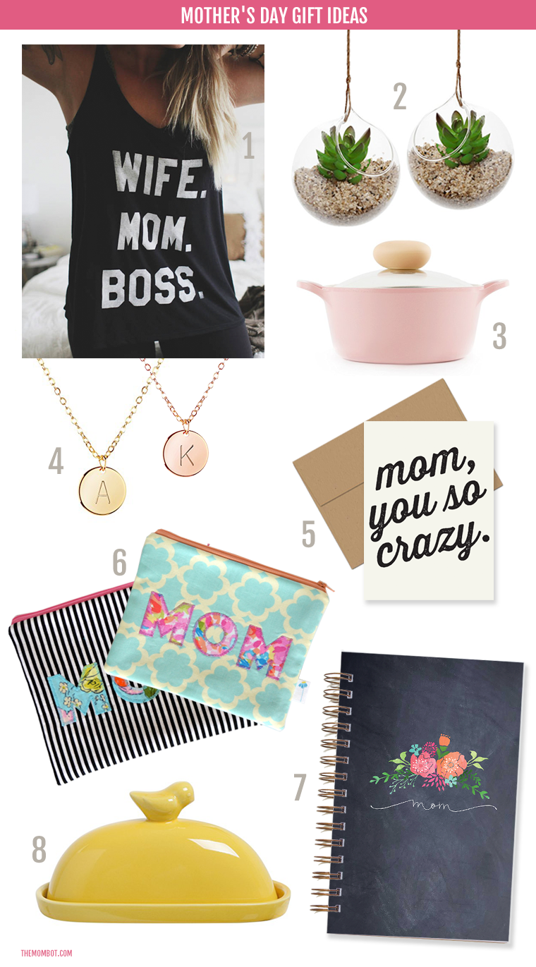 Need a Mother's Day gift that won't break the bank? From jewelry to stationery to kitchen and housewares, here are some great gift ideas at great prices!