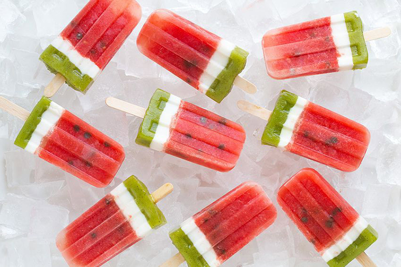 summer desserts, summer popsicles, popsicle recipes