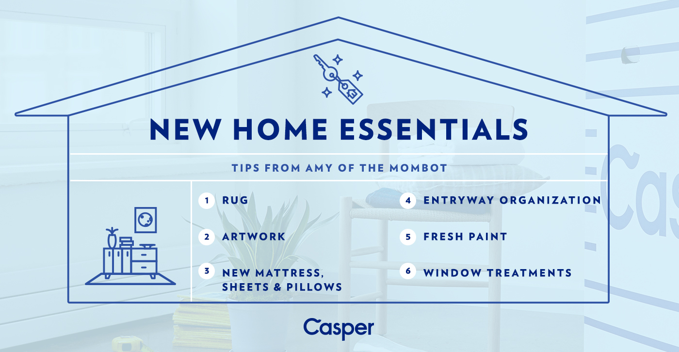 new home essentials, how to personalize your home, how to update your space, new home, house tips, new home tips