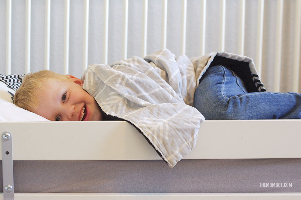 How to get your toddler to stay in bed - The Mombot