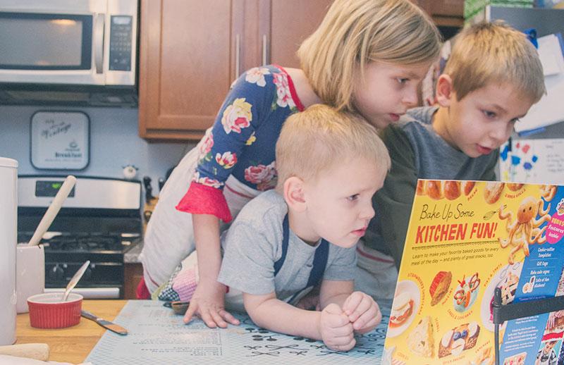 baking class cookbook, baking class by deanna cook, baking with kids, kids cookbook, holiday baking with kids