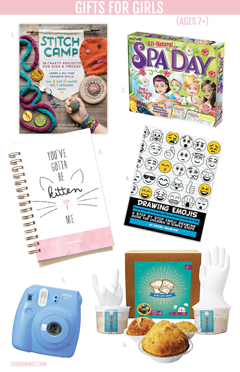 gifts for girl 2017, gifts for girls, christmas gifts for girls, gifts for little girls, gifts for pre-teen girls