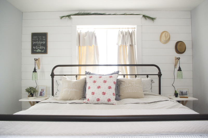 Modern Farmhouse Bedroom Redesign - The Mombot