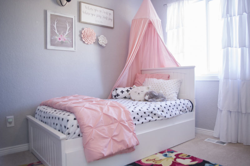 Big Girl Room Redesign - The Mombot