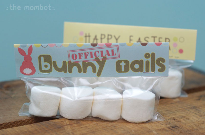 bunny tail baggie topper | themombot.com