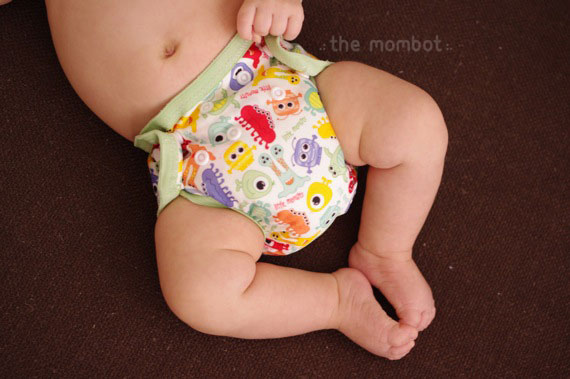Babyville Boutique DIY diaper cover review | TheMombot.com