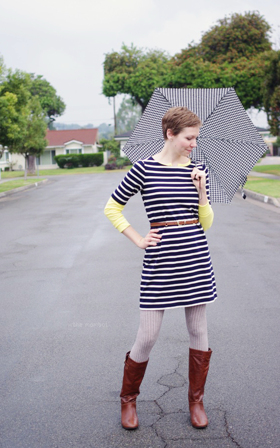 What I Wore in the Rain | TheMombot.com