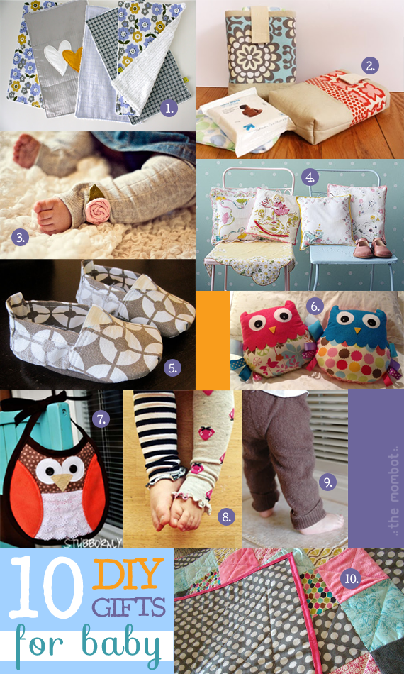 DIY gifts for baby 2012 collection | TheMombot.com