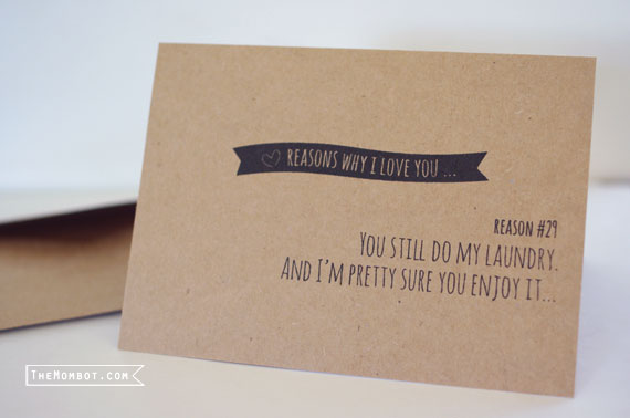 recycled funny Mother's Day cards | TheMombot.com
