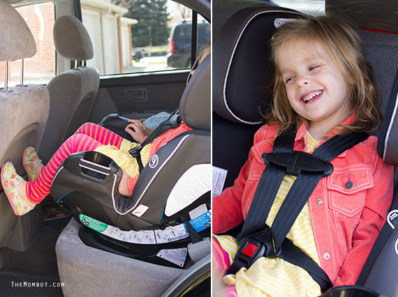 Evenflo platinum symphony DLX carseat review | TheMombot.com