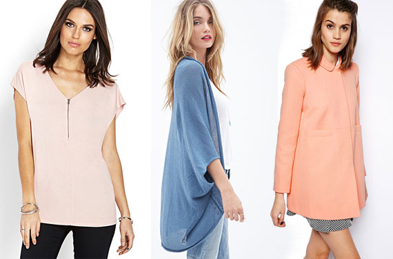 Pastels for fall & winter | TheMombot.com