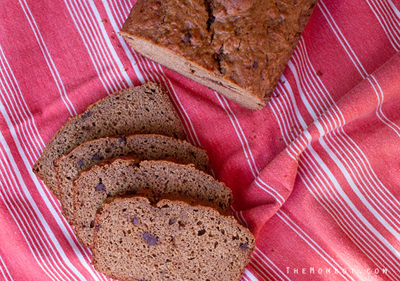 Healthy whole wheat banana bread (clean eating) recipe | TheMombot.com