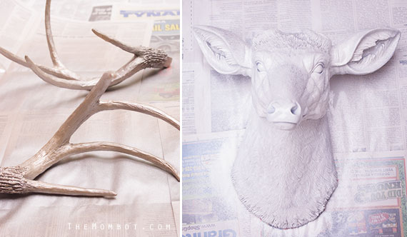 DIY faux deer head for under $50 | TheMombot.com