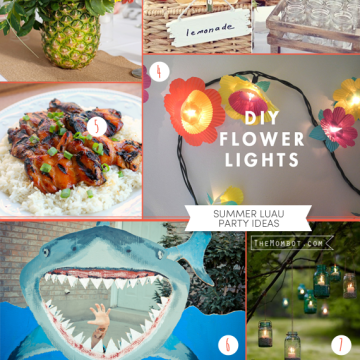 Summer luau party ideas (including DIYs)