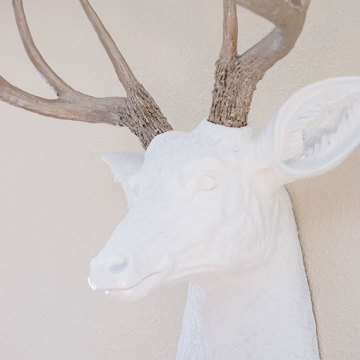 DIY faux deer head (for under $50)