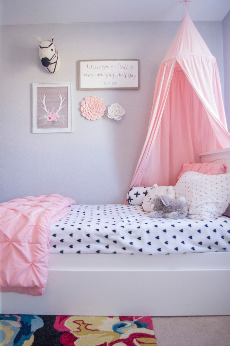 Big Girl Room Redesign - The Mombot on Small Room Ideas For Girls  id=53639